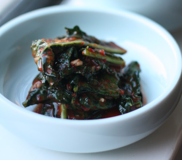 Hero's Kale Kimchi Recipe? Yes, Please